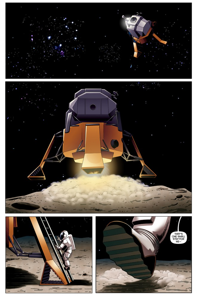 """One Small Step,"" page 1"