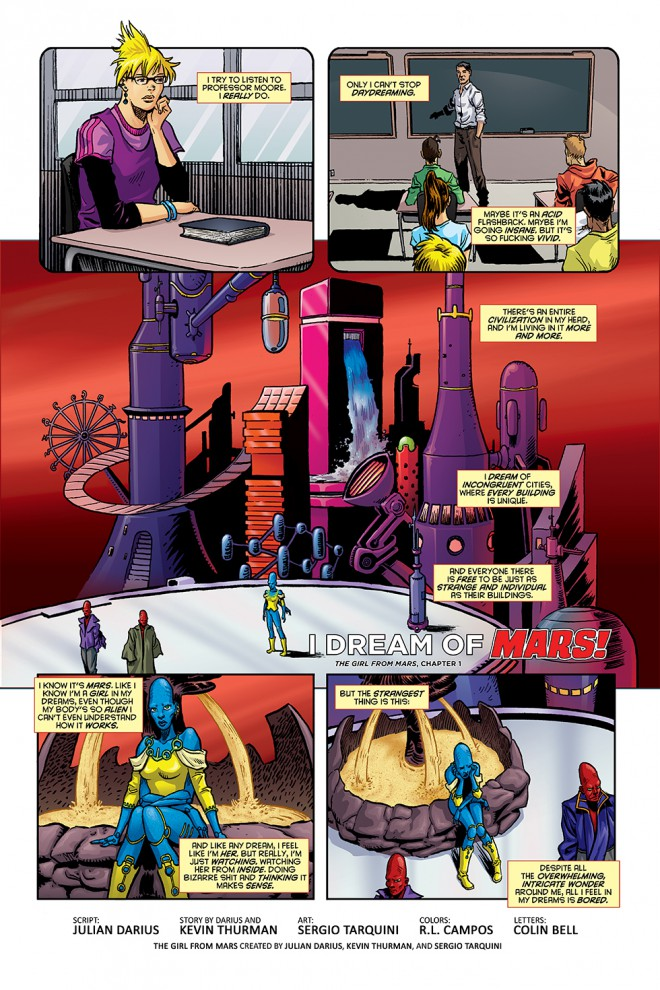 Martian Comics #1, chapter 1, page 1