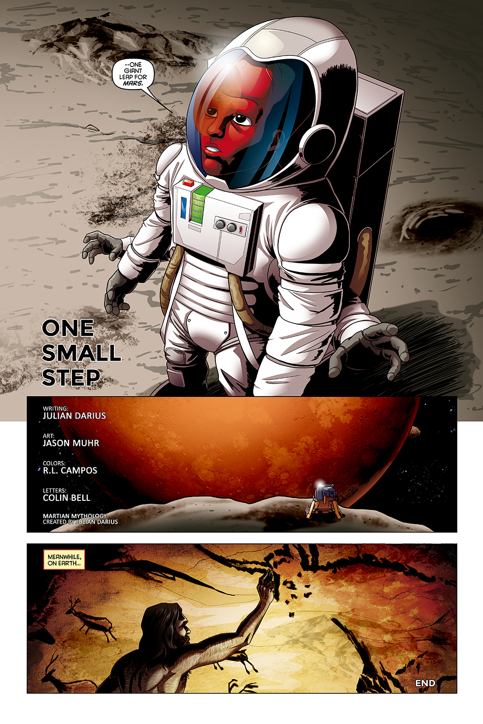 """One Small Step,"" page 2"