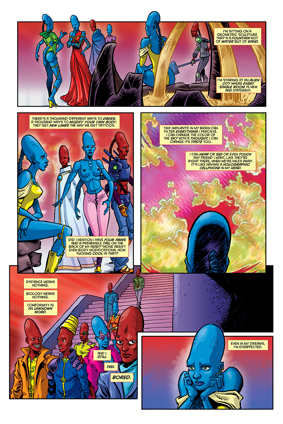 Martian Comics #1, chapter 1, page 2