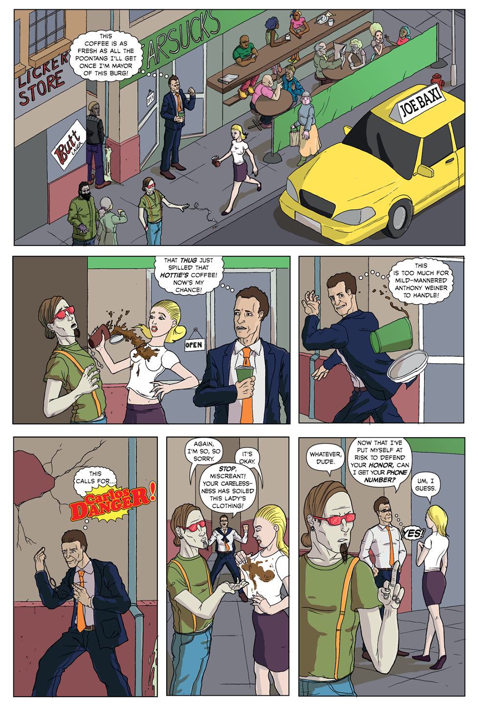 Carlos Danger #1, page 2