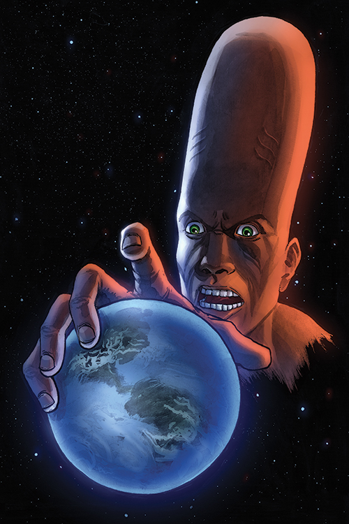 Martian Comics #4 cover