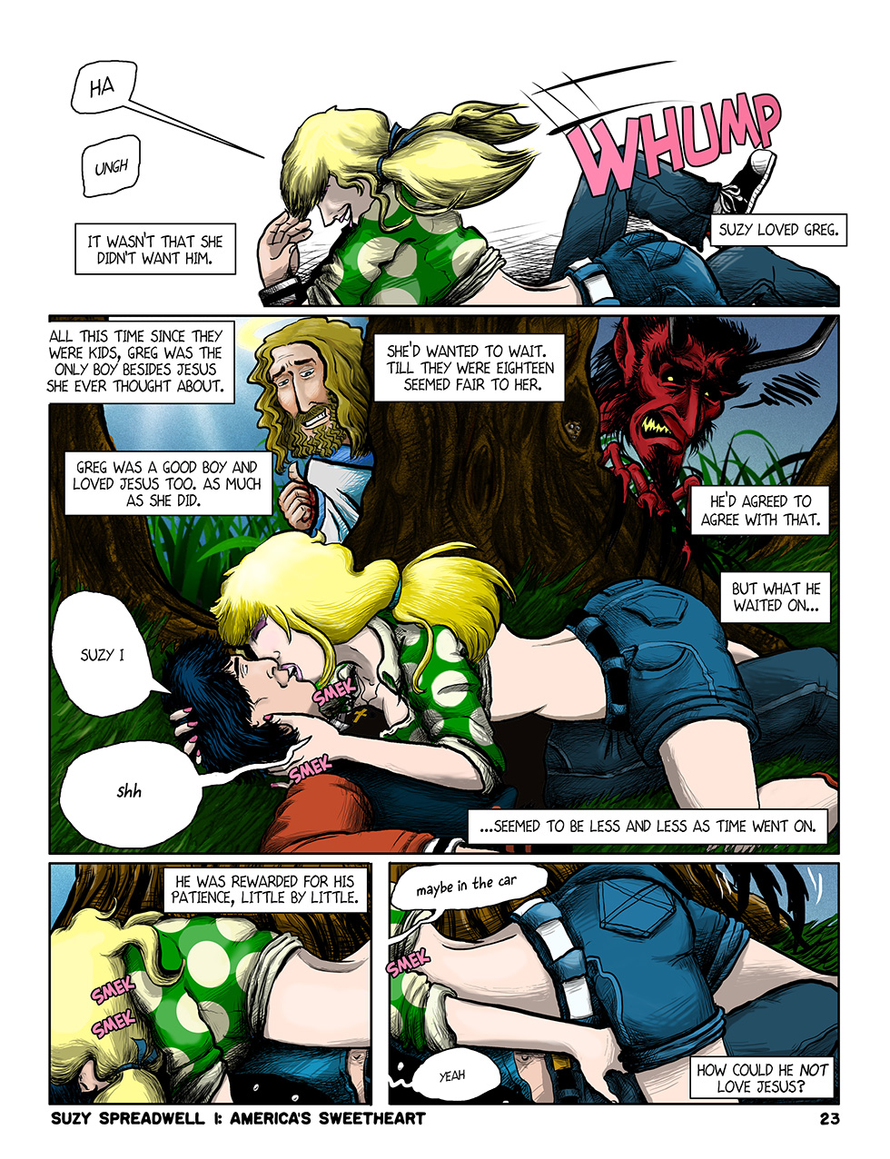 Suzy Spreadwell, page 9