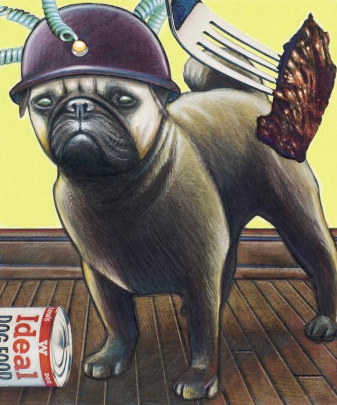 Wilbur, Yelena Moulin's pug